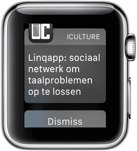Apple Watch: notificaties