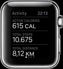 Apple Watch: Activiteiten-app