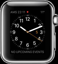 Apple Watch: wijzerplaat