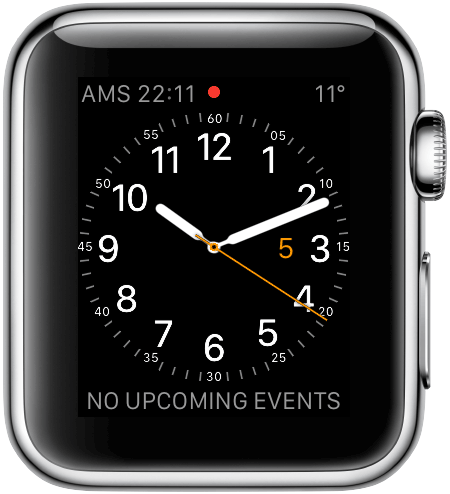 Apple Watch: wijzerplaat