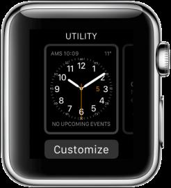 Apple Watch: wijzerplaat aanpassen