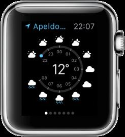 Apple Watch: weerbericht