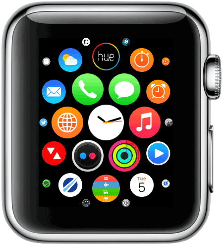 Apple Watch: interface
