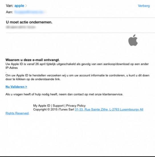 apple phishing nep mail
