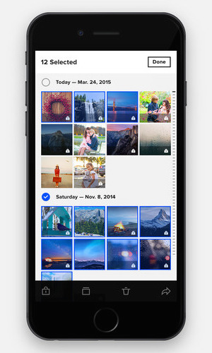 Flickr 4.0 iPhone app