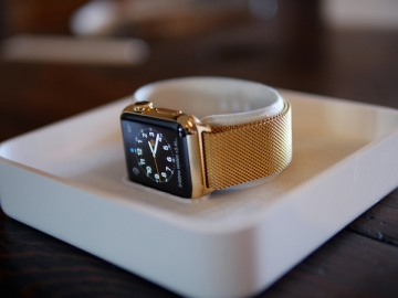 Apple Watch goud