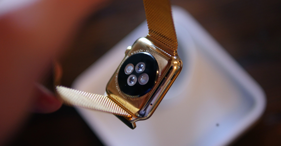 Apple Watch goud binnenkant