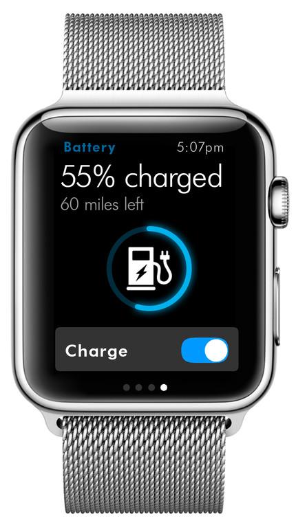 Volkswagen Apple Watch app