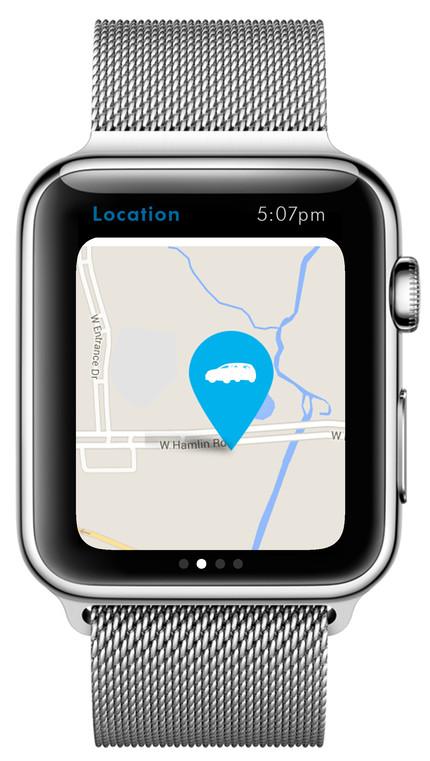 Volkswagen Apple Watch