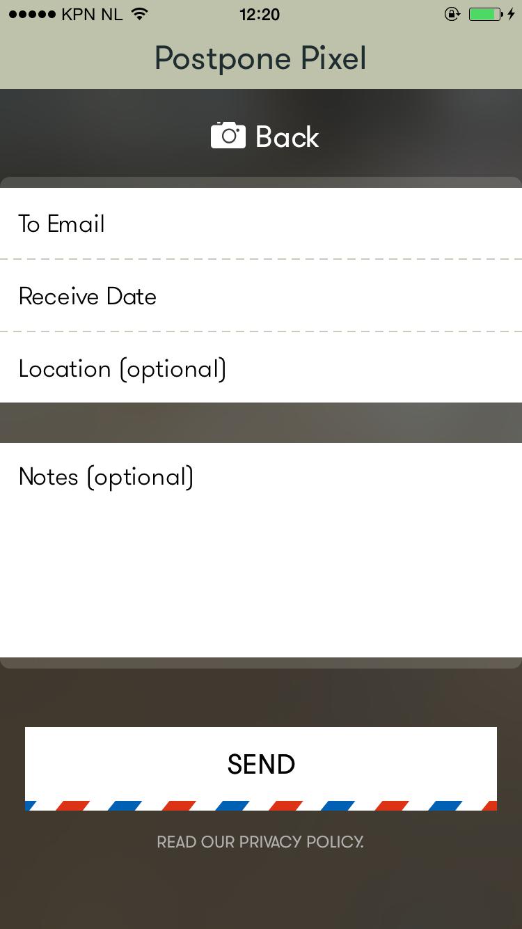 Postpone Pixel screenshot