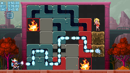 Mighty Switch Force Hose it Down screenshot