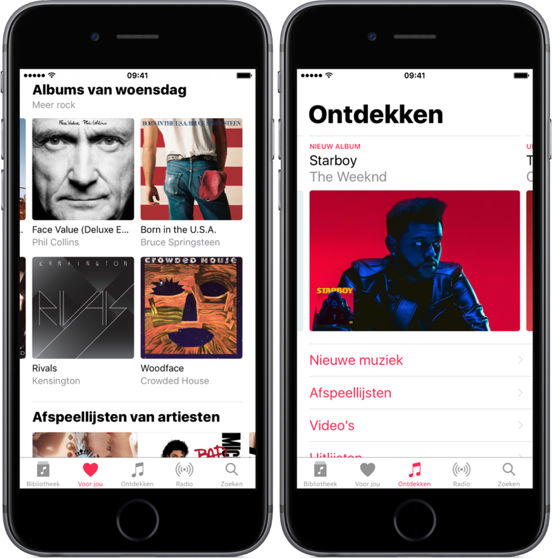 Ontdekken in Apple Music.