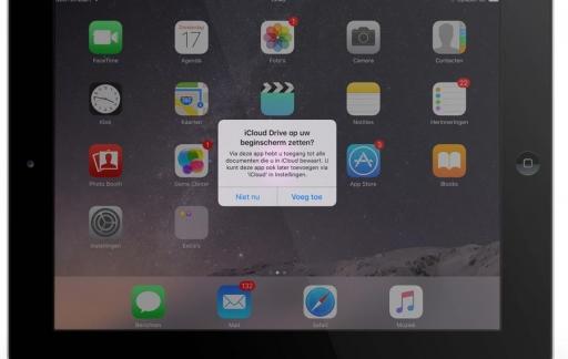 iCloud Drive-app installeren.