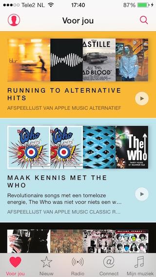 Apple-Music-Voor-Jou-Lijsten