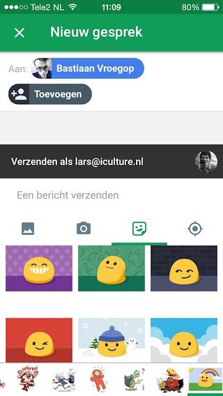 Hangouts-Update