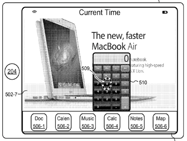 Apple patent multitasking 1