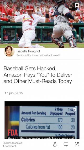LinkedIn Pulse artikel