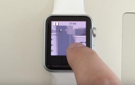 Apple Watch Canabalt