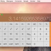 Gebruik de wetenschappelijke rekenmachine van macOS