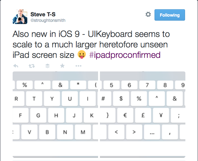 #ipadproconfirmed