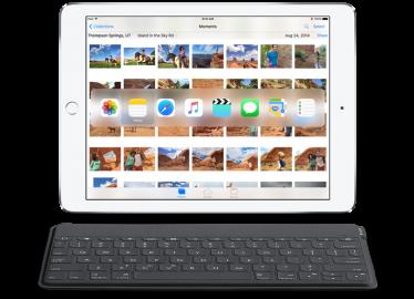 iOS 9 toetsenbord shortcuts
