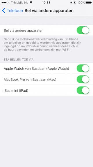 Continuity iOS 9