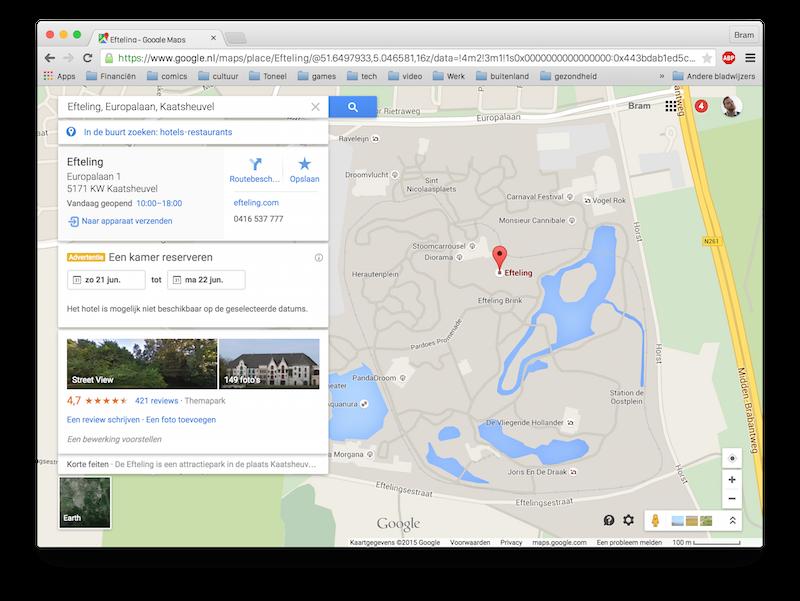 Google maps mac naar apparaat sturen