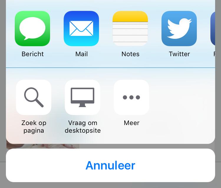iOS 9 Safari desktopsite