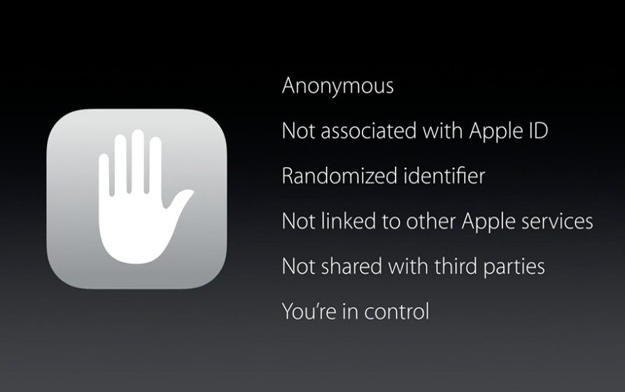 Siri iOS 9 privacy