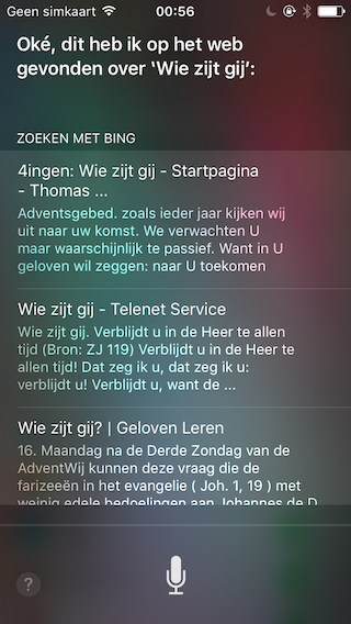 Siri-Belgie-Screenshot