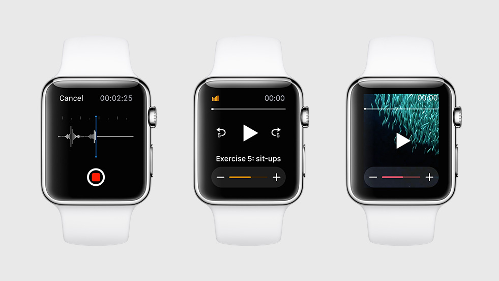 watchOS native apps