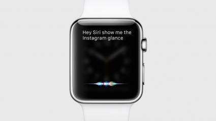 watchOS 2 Glance Siri