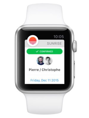 sunrise-notificatie-apple-watch