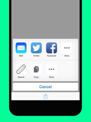 Opener iPhone 1