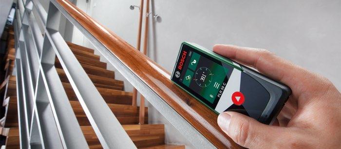 bosch maakt digitale rolmaat met ios app. Black Bedroom Furniture Sets. Home Design Ideas