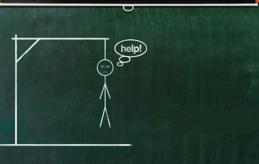 hangman-schoolbord