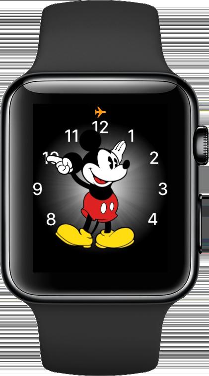 Apple Watch status iconen