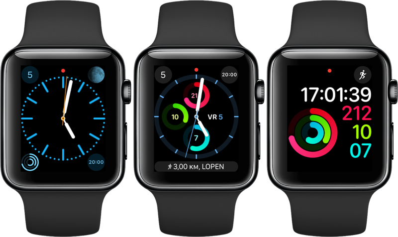 Apple Watch activiteitenringen
