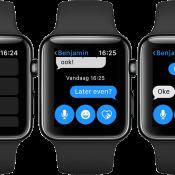 Standaardantwoorden op de Apple Watch aanpassen