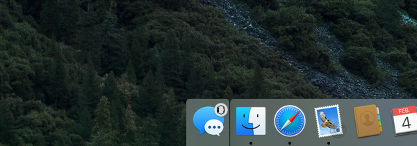 Handoff tussen een Apple Watch en een Mac.