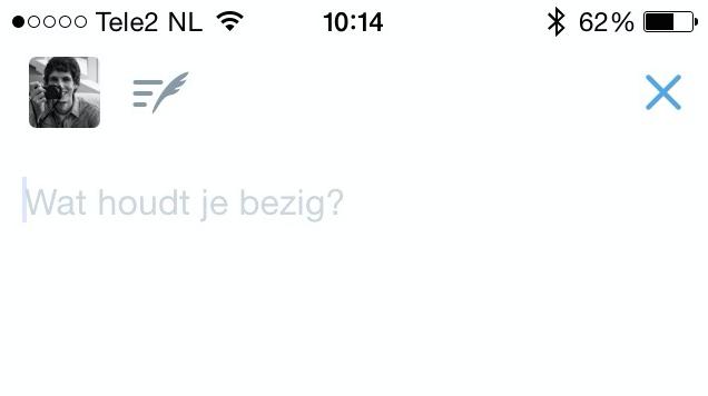 Twitter-Conceptknop