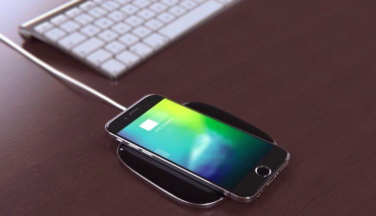 iPhone 7 draadloze oplader