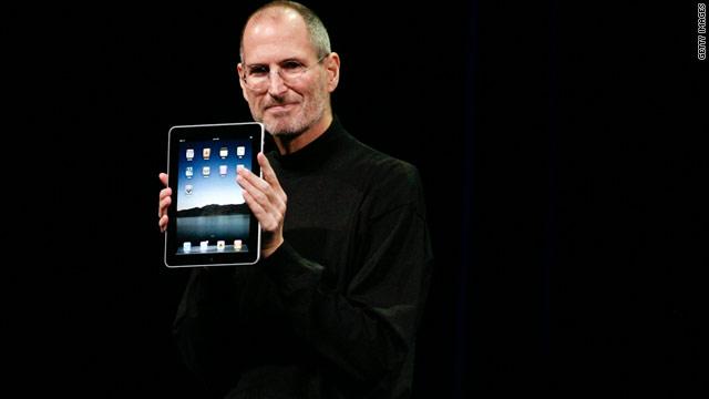 Steve Jobs met iPad