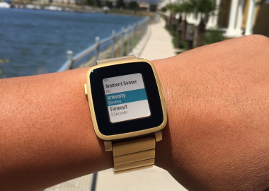 Pebble Time update