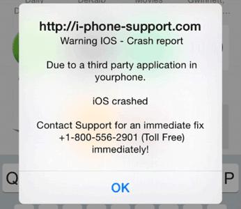 frauduleuze-crashmelding-iphone