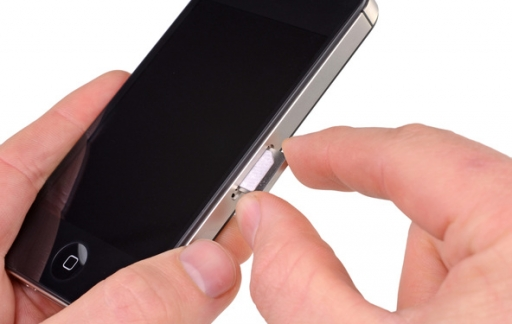 iphone simkaart in een samsung