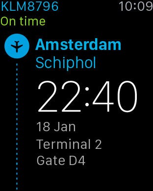 KLM Apple Watch 1