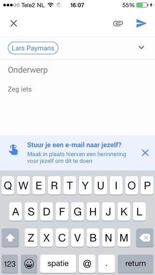 Google-Inbox-Herinnering