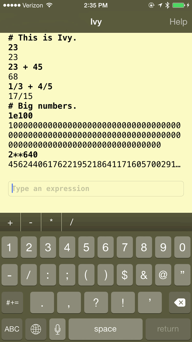 ivy-rekenmachine-iphone