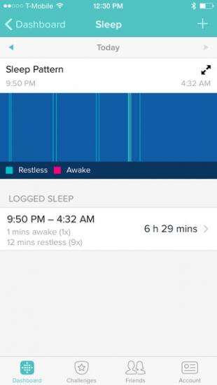 FitBit-Slaap